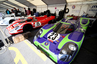 Le Mans Classic 2012 - Paddock