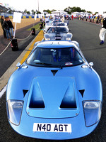 Le Mans Classic 2014 - Ford GT40s